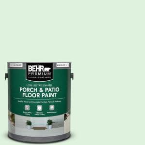 1 gal. #P400-1 Mischievous Low-Lustre Enamel Interior/Exterior Porch and Patio Floor Paint