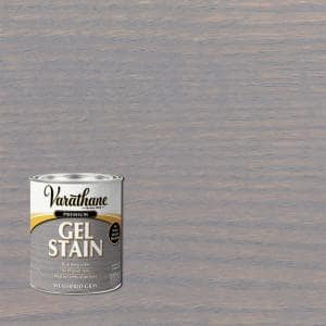 1 qt. Weathered Gray Semi-Transparent Wood Interior Gel Stain (2-Pack)