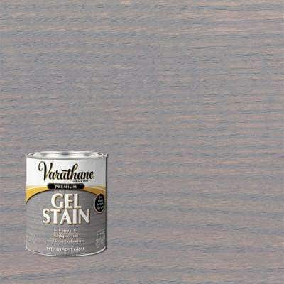 1 qt. Weathered Gray Semi-Transparent Interior Wood Gel Stain