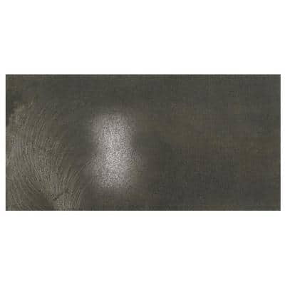 Vickery Sable Black 12 in. x 24 in. Color Body Porcelain Floor and Wall Tile (15.12 sq. ft. / case)