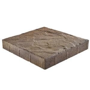 Taverna Square 16 in. x 16 in. x 2 in. Ant Savannah Concrete Step Stone (72-Pieces/124 sq. ft./Pallet)