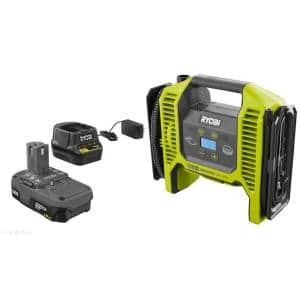 ONE+ 18V Lithium-Ion Cordless Dual Function Inflator/Deflator with 1.5 Ah Battery and 18V Charger