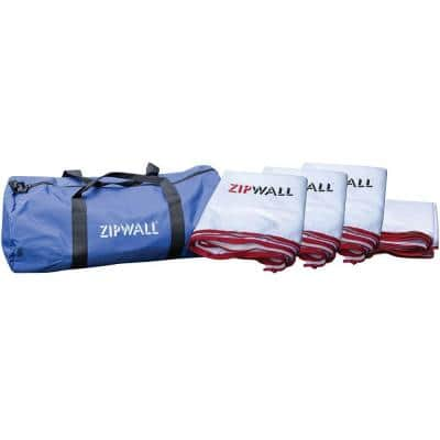 17.5 ft. x 48 ft. Barrier Panel Multipack Kit with Carry Bag
