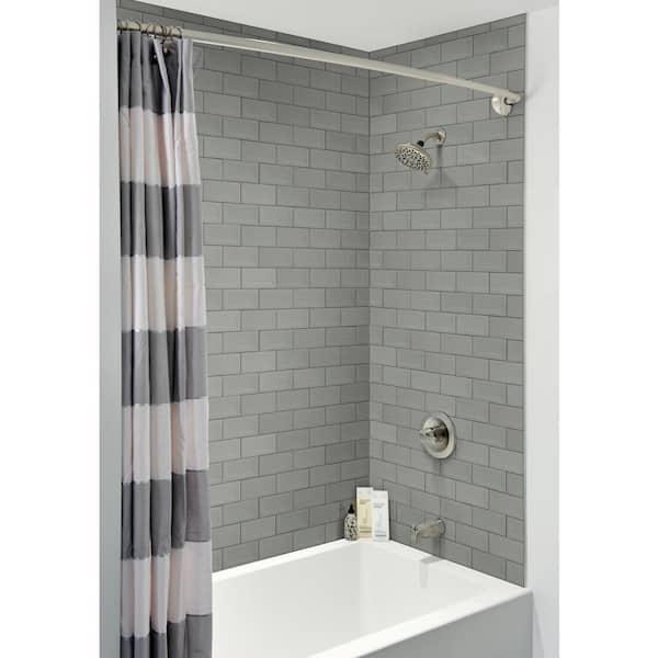 Msi Retro Inverted Beveled 3 In X 6 In Glossy Ceramic Gray Subway Tile 0 13 Sq Ft Nretgra3x6inbev The Home Depot