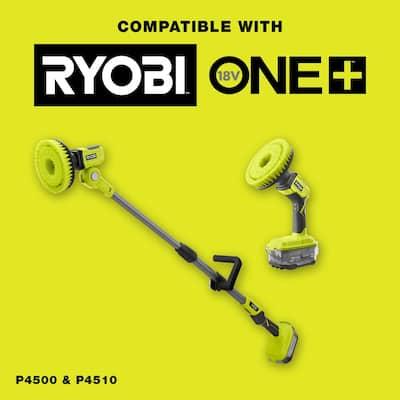 6 in. Hard Bristle Brush Accessory for RYOBI P4500 and P4510 Scrubber Tools