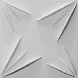 Meldal 3D Fiber Wall Paneling (20 in. x 20 in. Per Piece, 24-Piece)