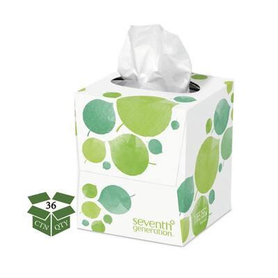 100% Recycled Facial Tissue (85-Count) (36 Boxes/Carton)