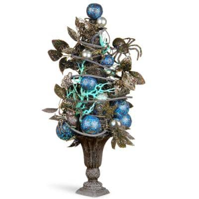 23 in. Potted Halloween Tree