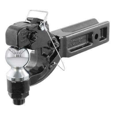 Pintle Hitch with 2-5/16 in. Trailer Ball, Fits 2-1/2 in.