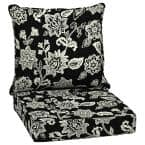 24 x 24 Ashland Jacobean 2-Piece Deep Seating Outdoor Lounge Chair Cushion