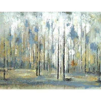 24 in. H x 48 in. W Sky Branches Canvas Print Unframed Canvas Wall Art