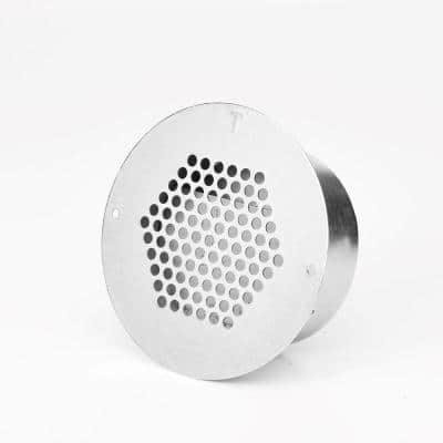 2 in. Brandguard Fire Plug Eave Vent Fire/Ember Resistant Galvanized Steel