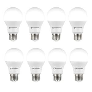 60-Watt Equivalent Soft White A19 Non-Dimmable LED Light Bulb (8-Pack)