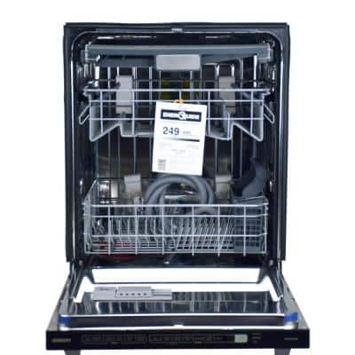 24 in. Stainless Steel Top Control Smart Built-In Tall Tub Dishwasher 120-volt with Stainless Steel Tub