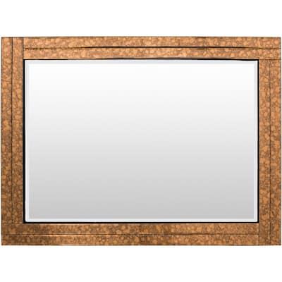 Medium Rectangle Copper Classic Mirror (36 in. H x 24 in. W)