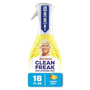 Clean Freak 16 oz. Lemon Zest Scent Deep Cleaning Mist Multi-Surface Spray Starter Kit
