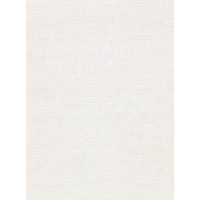 Parker Cream Faux Linen Cream Wallpaper Sample