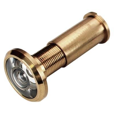 Bright Brass 200 Degree Door Viewer
