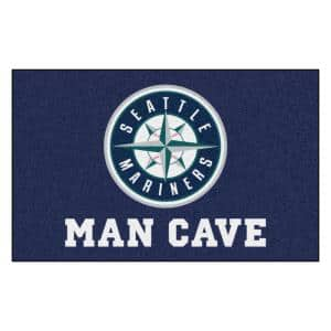 MLB - Seattle Mariners Man Cave UltiMat 5 ft. x 8 ft. Indoor Area Rug