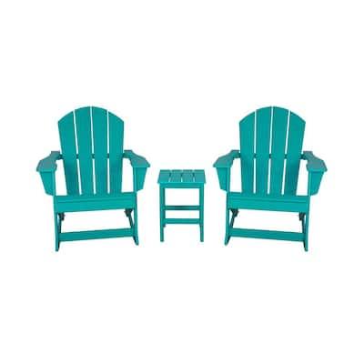 Rocking Plastic Adirondack Chairs Adirondack Chairs The Home Depot
