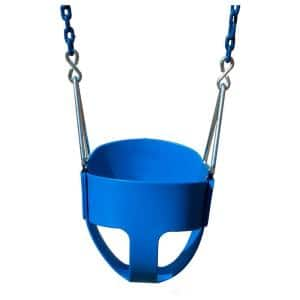 Full-Bucket Swing with Chain in Blue