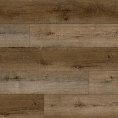 Breens Oak 7.13 in. W x 48.03 in. L Rigid Core Click Lock Luxury Vinyl Plank Flooring (23.77 sq. ft./case)