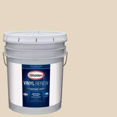 5 gal. #HDGWN45 Navajo Sand Low-Lustre Exterior Paint with Primer