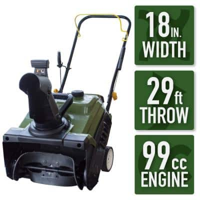 Earth Series 18 in. Single-Stage Gas Snow Blower