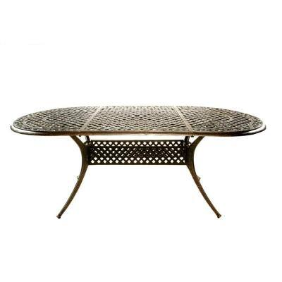 Mississippi Oval Patio Dining Table