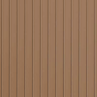 Rib 8.5 ft. x 22 ft. Sandstone Vinyl Garage Flooring Cover and Protector