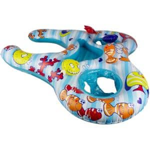 Mommy and Us Dual Baby Seat Pool Float