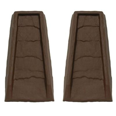 Block Chocolate Gutter Down Spout Splash (2-Pack)