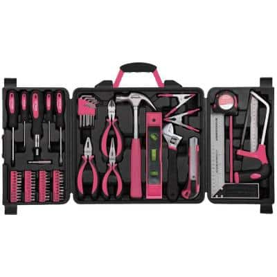 Home Tool Kit in Pink (71-Piece)