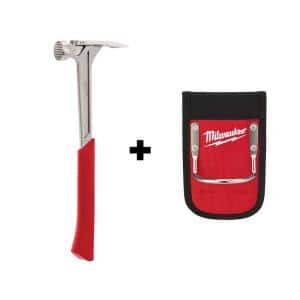17 oz. Milled Face Framing Hammer with Hammer Loop