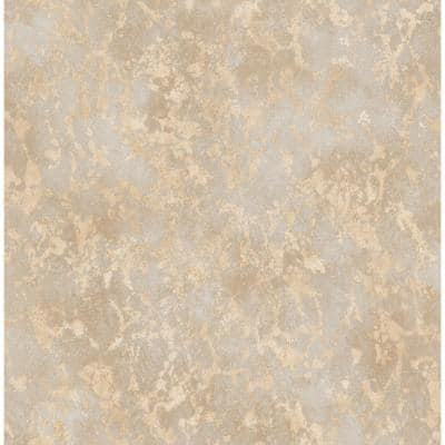 Imogen Beige Faux Marble Paper Strippable Roll (Covers 56.4 sq. ft.)