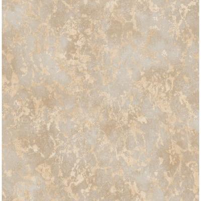 Imogen Beige Faux Marble Beige Wallpaper Sample