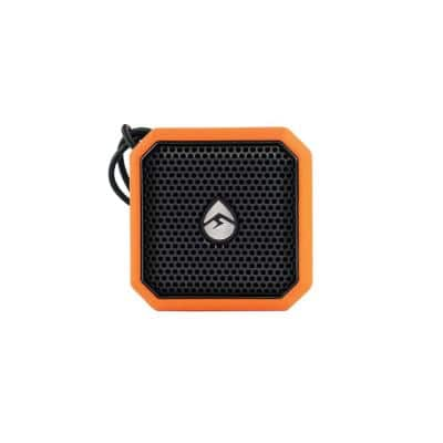 EcoPebble Lite Waterproof Bluetooth Speaker, Orange