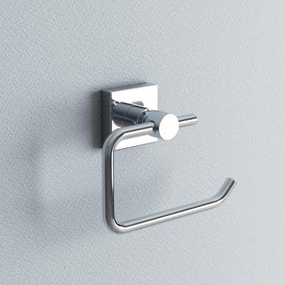 Hukk Toilet Paper Holder-Single Post in Chrome