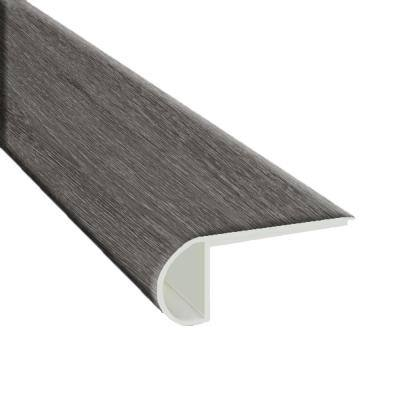 Provance Gray 3/4 in. T x 2 3/4 in. W x 94 in. L Luxury Vinyl Flush Stair Nose Molding