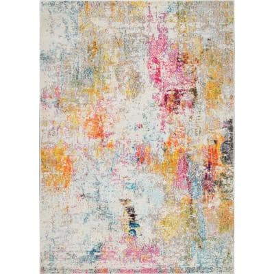 Modern Cezanne Multi 12 ft. x 15 ft. Area Rug