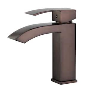 Cordoba Single Hole Single-Handle Bathroom Faucet in Oil Rubbed Bronze
