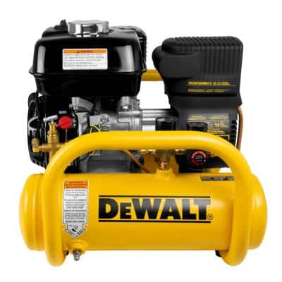 4 Gal. Portable Honda Gas Powered Oil Free Direct Drive Air Compressor