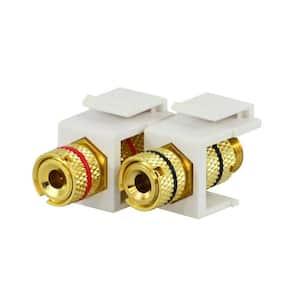 Binding Posts - White (2-Pack)