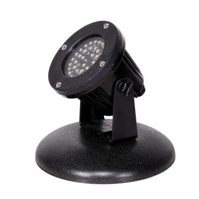 Outdoor 36 Count Pond or Garden Super Bright White LED Light with Transformer