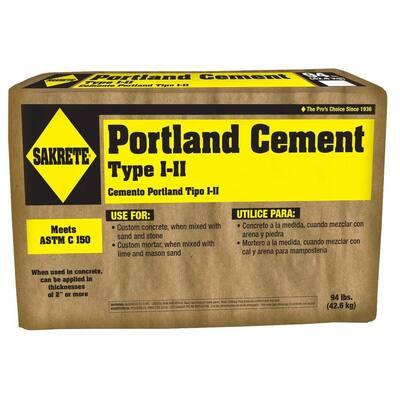 94 lbs. Type I-II Portland Cement Concrete Mix