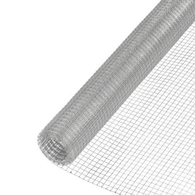 1/4 in x 24 in x 25 ft. Galvanized Hardware Cloth