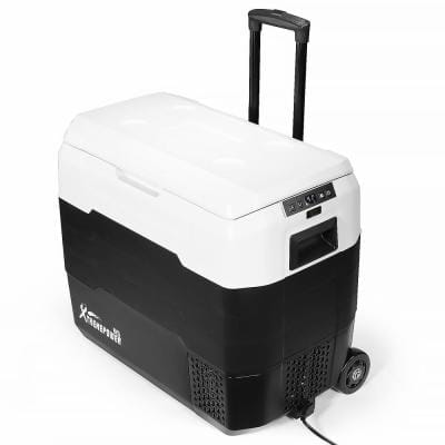 53 Qt. Portable Bluetooth Rolling Refrigerator Chest Cooler