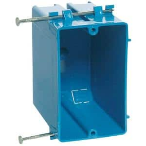 PVC 1-Gang 20 cu. in. New Work Electrical Outlet Box