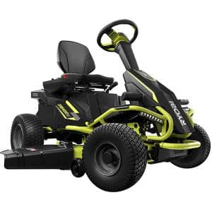 38 in. 100 Ah Battery Electric Rear Engine Riding Lawn Mower