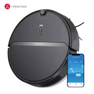 E4 MOP Wi-Fi Enabled Robotic Vacuum Cleaner with 2000Pa Suction and 200min Runtime